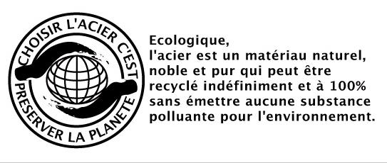 logo acier