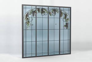 verriere art nouveau laruche site officiel laruche paris verriere d 39 interieur acier atelier. Black Bedroom Furniture Sets. Home Design Ideas